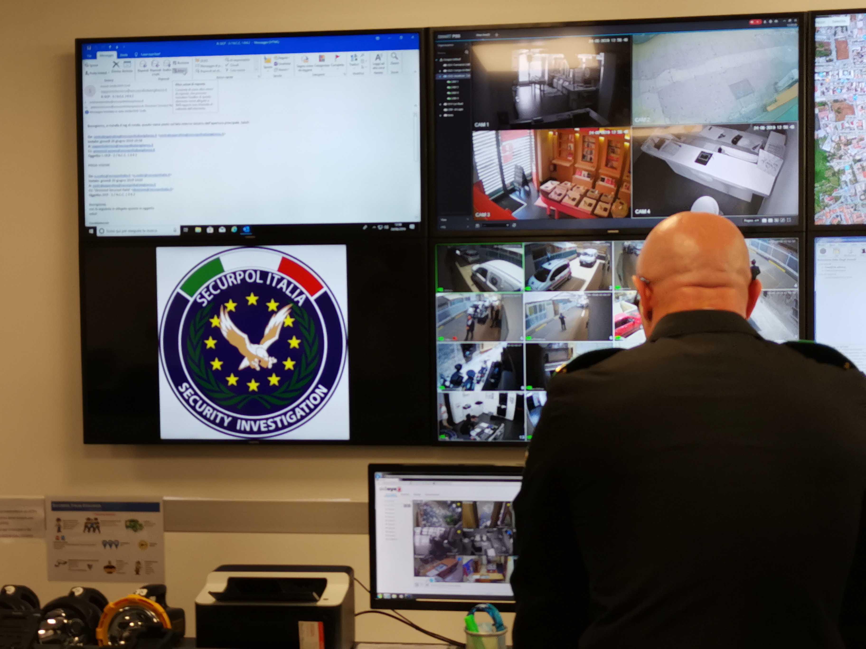gestione allarmi videosorveglianza
